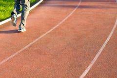 Οι τρέχοντας τρόποι στο στάδιο στοκ εικόνα με δικαίωμα ελεύθερης χρήσης