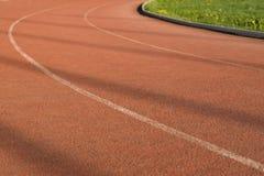 Οι τρέχοντας τρόποι στο στάδιο στοκ εικόνες