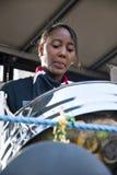οι τυμπανιστές επιπλέουν τα micheals ST steeel Στοκ Φωτογραφίες
