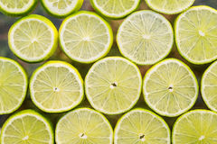 Οι φέτες νωπών καρπών αφαιρούν το άνευ ραφής υπόβαθρο σχεδίων, πράσινο λ Στοκ Φωτογραφίες