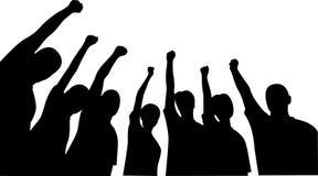 οι φίλοι ομαδοποιούν τα χέρια προς τα πάνω Στοκ φωτογραφία με δικαίωμα ελεύθερης χρήσης
