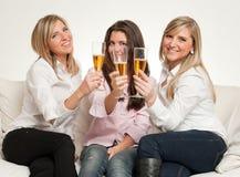 Οι φίλοι ψήνουν Στοκ φωτογραφία με δικαίωμα ελεύθερης χρήσης