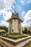 Οι φονικοί τομείς Choeung Ek στη Πνομ Πενχ, Καμπότζη Στοκ Φωτογραφίες