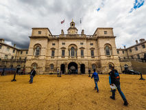 Οι φρουρές αλόγων παρελαύνουν στο Λονδίνο (hdr) στοκ εικόνα με δικαίωμα ελεύθερης χρήσης