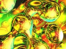 οι φυσαλίδες χρωματίζο&up διανυσματική απεικόνιση