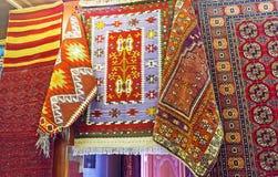Οι φυσικές κουβέρτες σε παλαιό Bazaar Antalya Στοκ εικόνες με δικαίωμα ελεύθερης χρήσης