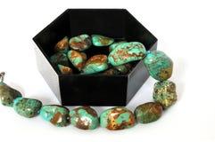 οι φυσικές πέτρες necklase Στοκ Εικόνα