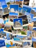 οι φωτογραφίες της Ελλάδας συσσωρεύουν το ταξίδι Στοκ φωτογραφία με δικαίωμα ελεύθερης χρήσης