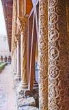 Οι χαρασμένες στήλες Στοκ φωτογραφία με δικαίωμα ελεύθερης χρήσης