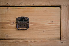 Οι χασάπηδες εμποδίζουν το ξύλινο συρτάρι Στοκ εικόνες με δικαίωμα ελεύθερης χρήσης