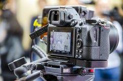 Ψηφιακή κάμερα στοκ φωτογραφία με δικαίωμα ελεύθερης χρήσης