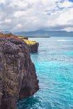 Οι ωκεάνιοι απότομοι βράχοι Ατλαντικός τοπίων ταξιδιού φύσης εξερευνούν τον κόσμο Στοκ Φωτογραφίες