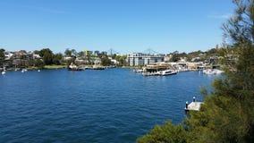 Οι όμορφες περιοχές του Σίδνεϊ Αυστραλία Στοκ Εικόνες