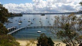Οι όμορφες περιοχές του Σίδνεϊ Αυστραλία Στοκ φωτογραφία με δικαίωμα ελεύθερης χρήσης