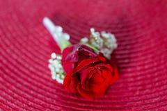 Οι όμορφοι γαμήλιοι νεόνυμφοι ανθίζουν τη λεπτομέρεια στοκ εικόνα με δικαίωμα ελεύθερης χρήσης