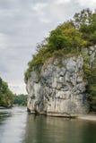 Οι δύσκολες ακτές του Δούναβη Στοκ Εικόνες