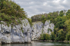Οι δύσκολες ακτές του Δούναβη στοκ εικόνα με δικαίωμα ελεύθερης χρήσης