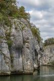 Οι δύσκολες ακτές του Δούναβη Στοκ Φωτογραφίες