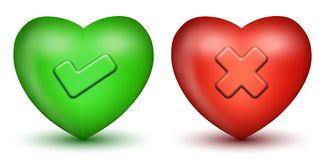 οι διαγώνιες καρδιές υπ&om Στοκ φωτογραφίες με δικαίωμα ελεύθερης χρήσης