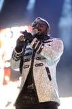 Οι Black Eyed Peas αποδίδουν στη Βαρκελώνη στοκ φωτογραφίες με δικαίωμα ελεύθερης χρήσης