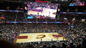 Οι Cleveland Cavaliers, επιταχύνουν το χώρο δανείων Στοκ Εικόνα
