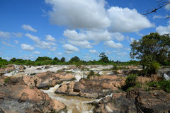 Οι Mekong πτώσεις Στοκ Εικόνα