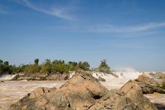 Οι Mekong πτώσεις Στοκ εικόνες με δικαίωμα ελεύθερης χρήσης