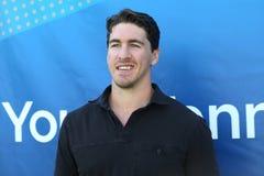 Οι New York Rangers έκθεση αντισφαίρισης νεολαίας οικοδεσποτών καπετάνιου Ryan McDonald στις ΗΠΑ ανοίγουν το 2015 Στοκ εικόνες με δικαίωμα ελεύθερης χρήσης