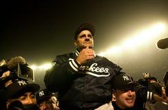 Οι New York Yankees γιορτάζουν Στοκ Εικόνα