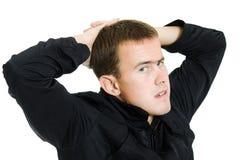 οκνηρό άτομο στοκ φωτογραφία με δικαίωμα ελεύθερης χρήσης