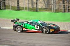 Οκτάνιο 126 ομάδα Ferrari 458 πρόκληση Evo 2016 Στοκ Εικόνες