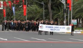29 Οκτωβρίου εορτασμός ημέρας Δημοκρατίας της Τουρκίας Στοκ Εικόνες