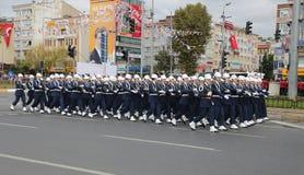 29 Οκτωβρίου εορτασμός ημέρας Δημοκρατίας της Τουρκίας Στοκ εικόνα με δικαίωμα ελεύθερης χρήσης