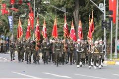 29 Οκτωβρίου εορτασμός ημέρας Δημοκρατίας της Τουρκίας Στοκ Φωτογραφία