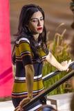 12 Οκτωβρίου 2016, δημοκρατικό προεδρικό Huma Abedin προσέχει την εκστρατεία της Χίλαρι Κλίντον υποψηφίων στο κέντρο Smith για τι Στοκ φωτογραφία με δικαίωμα ελεύθερης χρήσης