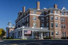 18 Οκτωβρίου 2016 - ξενοδοχείο του Curtis, Lenox, μάζα - Νέα Αγγλία, Berkshires Στοκ εικόνα με δικαίωμα ελεύθερης χρήσης