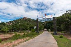 9 Οκτωβρίου 2016 - περιτύλιξη Binh, έκκεντρο Ranh, Khanh Hoa, Βιετνάμ Στοκ Εικόνες
