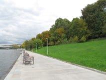 Οκτώβριος στο πάρκο της Μόσχας Στοκ εικόνες με δικαίωμα ελεύθερης χρήσης