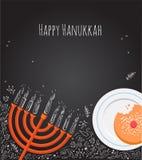 Οκτώ ημέρες Hanukkah Στοκ Εικόνες