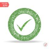ΟΚ ΠΛΗΚΤΡΟΥ κύκλων για την ψηφοφορία, απόφαση, Ιστός Το σύμβολο σωστού, ελέγχει, εγκεκριμένη διανυσματική απεικόνιση ελεύθερη απεικόνιση δικαιώματος