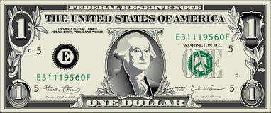 δολάριο jpg Στοκ φωτογραφία με δικαίωμα ελεύθερης χρήσης