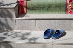 Ολισθαίνοντες ρυθμιστές στα σκαλοπάτια Στοκ Φωτογραφίες