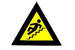ολισθηρά βήματα Στοκ φωτογραφία με δικαίωμα ελεύθερης χρήσης