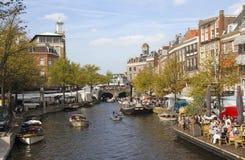 Ολλανδία Λάιντεν Στοκ Εικόνα