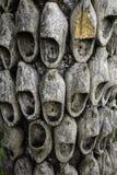 Ολλανδικά ξύλινα clogs στοκ εικόνες