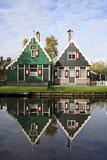 ολλανδικά σπίτια παλαιά Στοκ Εικόνα