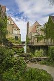 ολλανδικά σπίτια παλαιά Στοκ Φωτογραφίες