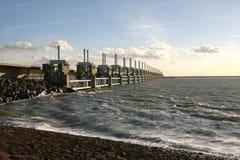 ολλανδικά υδάτινα έργα Στοκ φωτογραφίες με δικαίωμα ελεύθερης χρήσης
