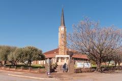 Ολλανδική ανασχηματισμένη εκκλησία σε Postmasburg στοκ εικόνες