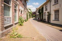 ολλανδική οδός σκηνής Στοκ Εικόνα